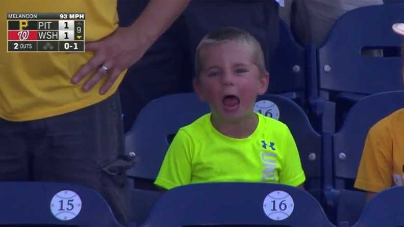 Pirates kid yells