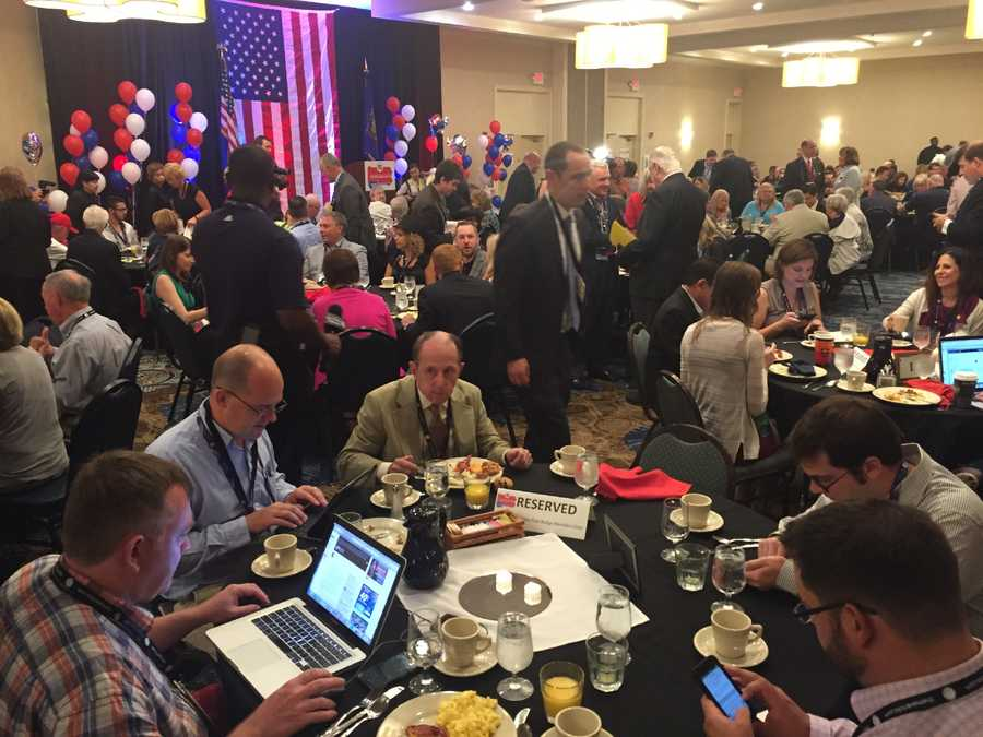 PA GOP delegation Monday morning breakfast meeting
