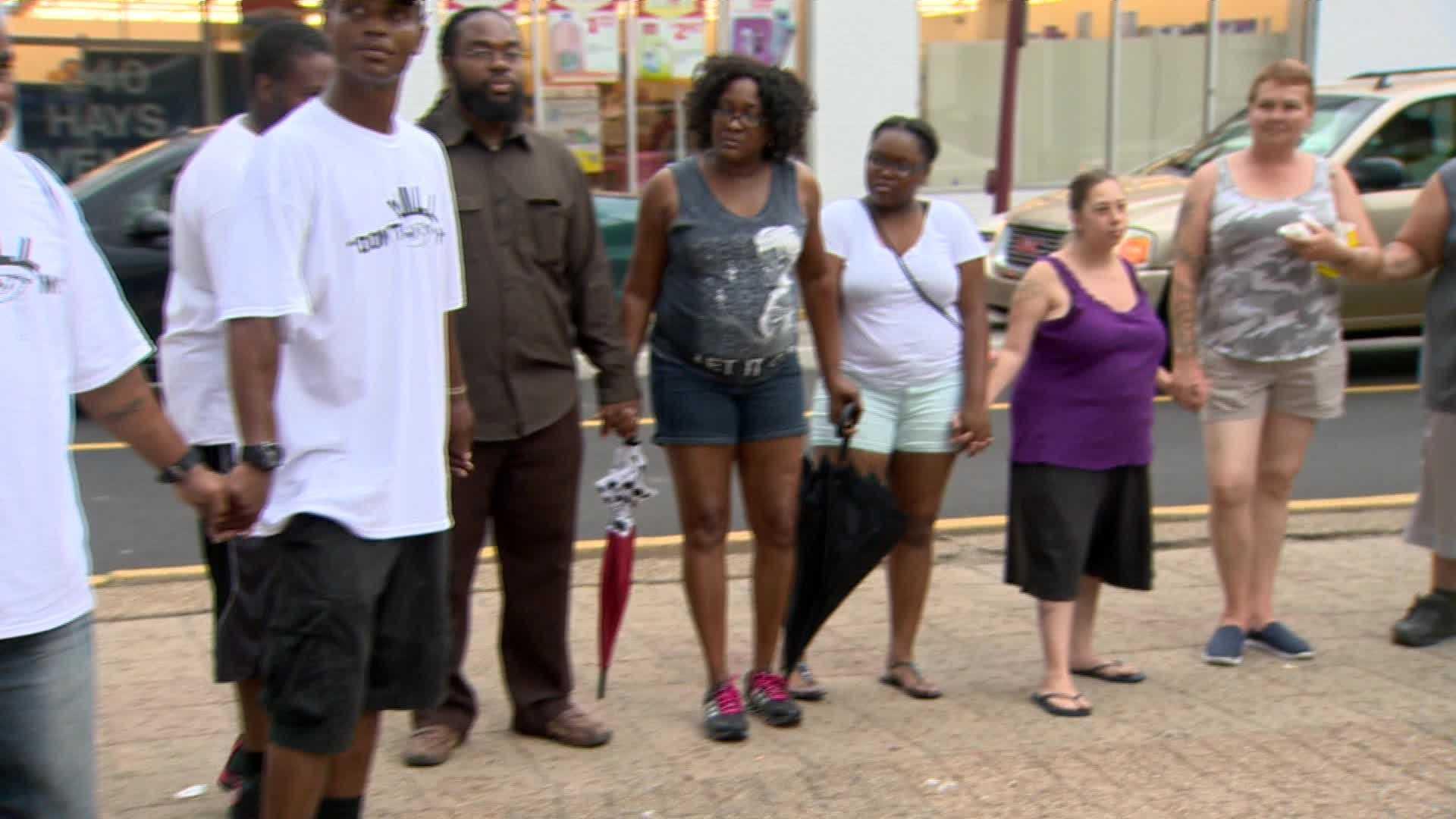 Isis Allen Hilltop communities hold vigil