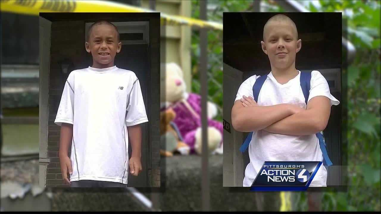 Dylan Taylor (left) and Nicholas Taylor (right) died in a house fire in Marshall-Shadeland.