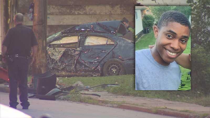 Leon Spearman III died in a car crash in the East Hills.