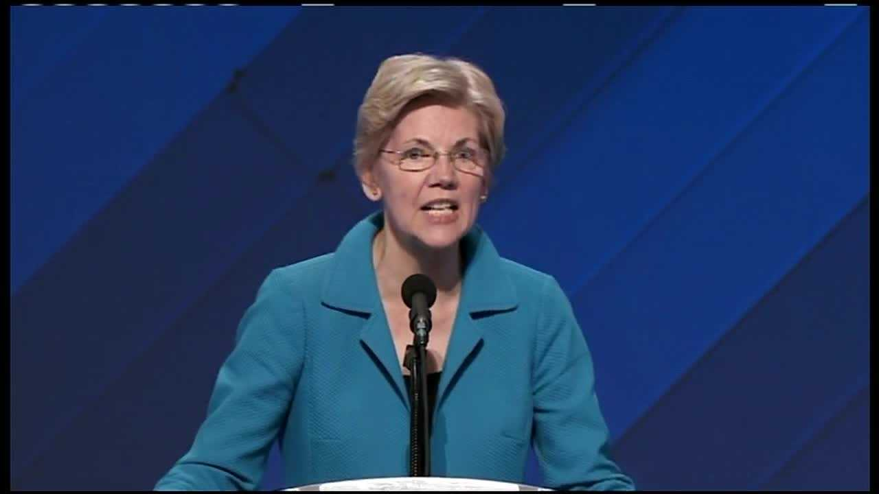 Elizabeth Warren: Hillary is 'battle-tested' fighter
