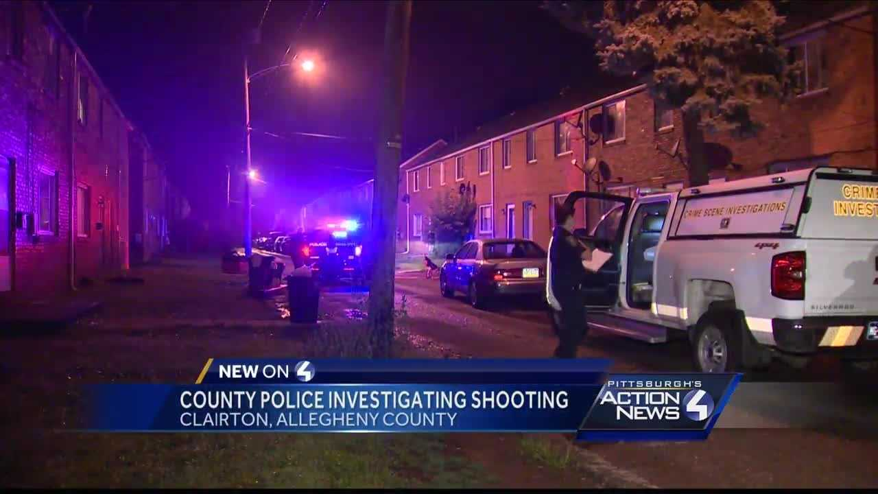 A man was shot late Thursday night in Clairton