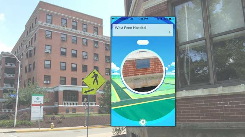 "West Penn Hospital is a location in the ""Pokemon Go"" app."