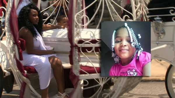 Six-year-old Isis Allen was laid to rest Friday.