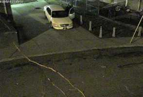 Police believe this car, owned by Chelton's mother and sister, was driven to the shooting scene from Homewood North.