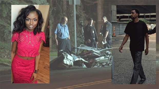 Briauna Slaughter, 21, was killed in a crash on Penn Avenue.  Tyrone Jackson, 30, has surrendered to charges that include felony homicide by vehicle while driving under the influence.