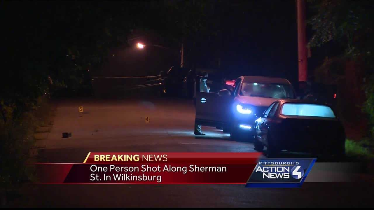 Police investigating after a person is shot in Wilkinsburg