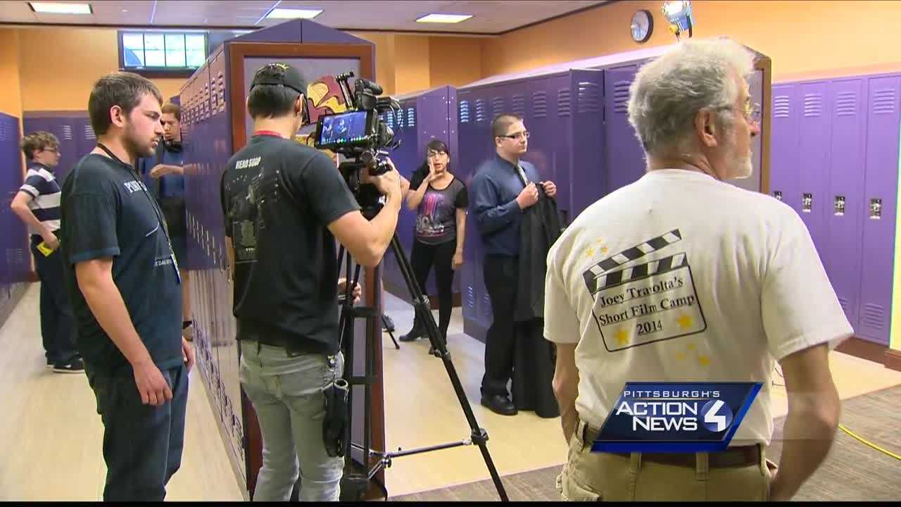 Brother of John Travolta helps take on Autism with Pittsburgh filmmaking camp