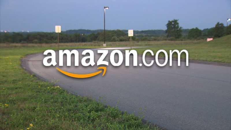 Amazon possible warehouse scene