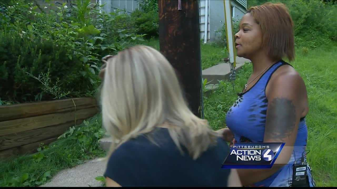 Hate crime investigation underway after porch doused with gasoline