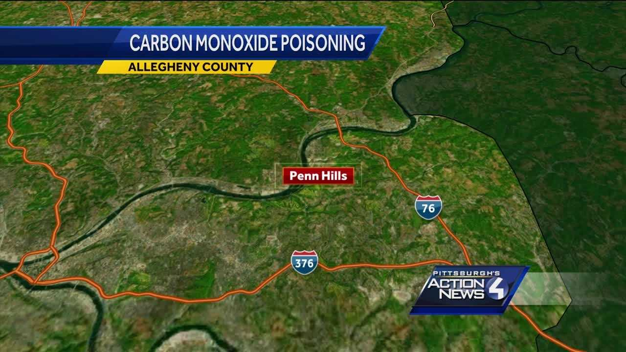 CO poisoning map