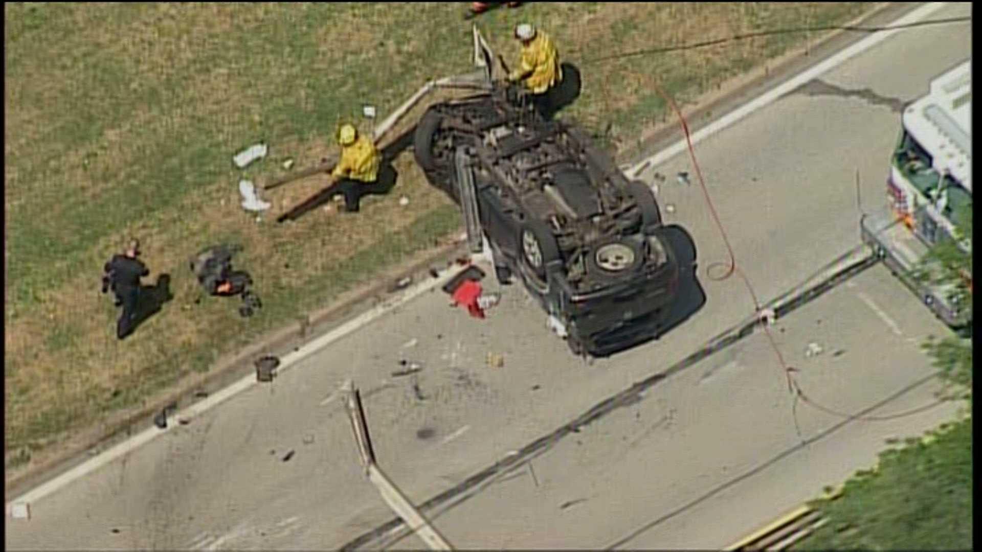Bigelow Boulevard crash