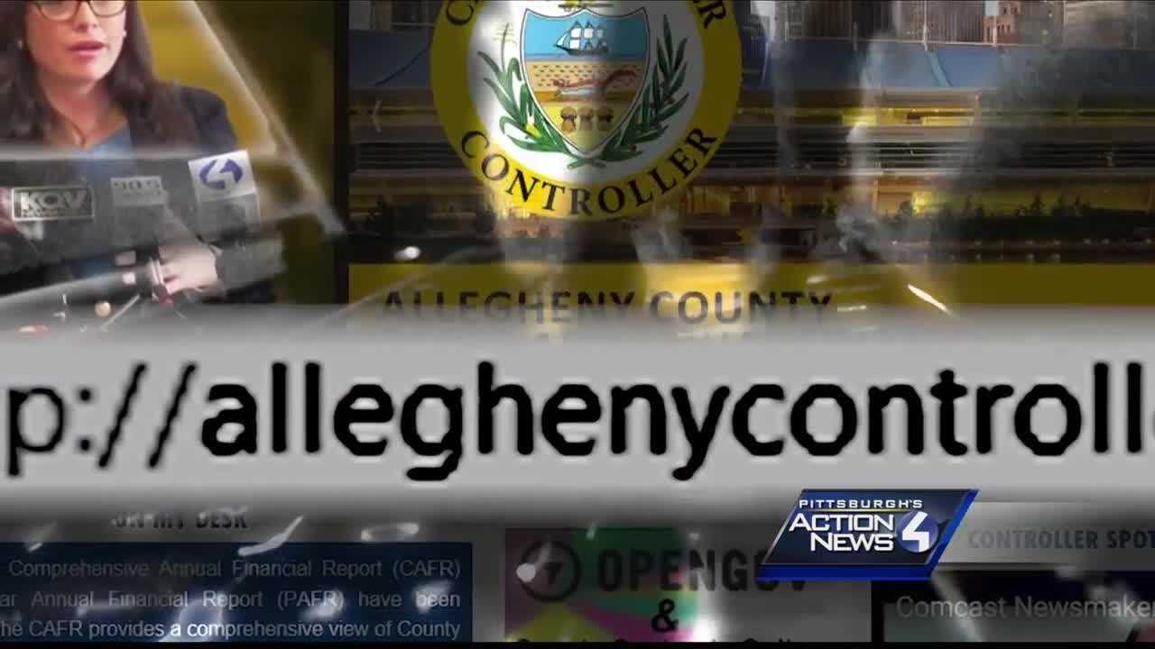 The website for the office of the Allegheny County controller was hacked Wednesday, officials confirm.
