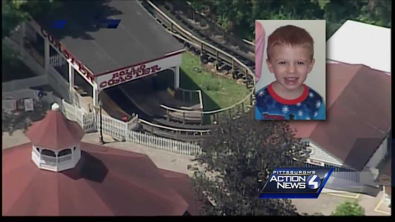 img-Jeannette boy identified as toddler hurt on Idlewild roller coaster