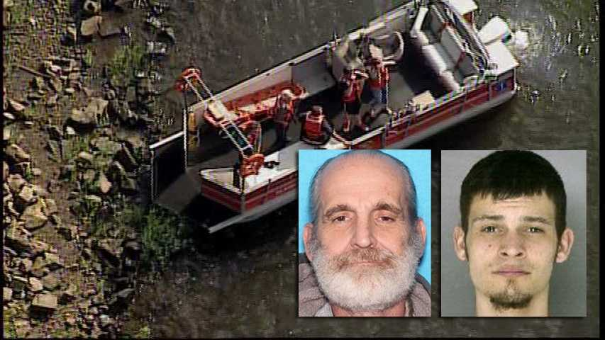 Rescue crews are searching for Stephen Sieminski, 62, and and his son Justin Sieminski, 20, after they didn't come home Sunday night after fishing in Lower Burrell.