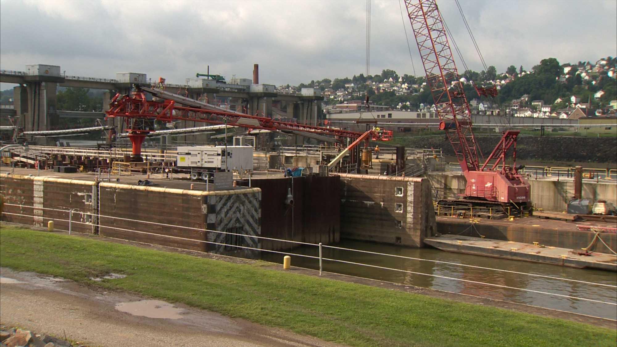 Charleroi Locks and Dam