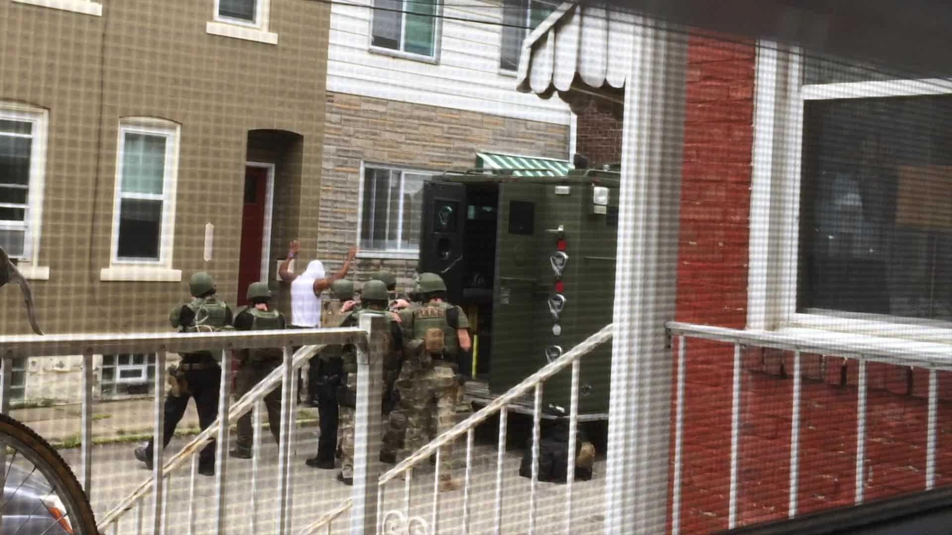 Bloomfield SWAT arrest