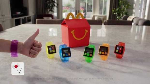 Happy Meal Fitness Tracker
