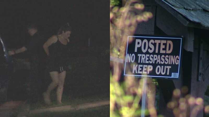 Kristen Walker, no trespass