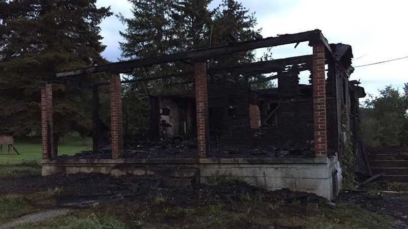 img-Fire tears through home in Unity Township