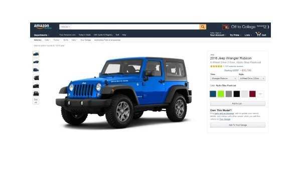 Amazon Vehicles screenshot