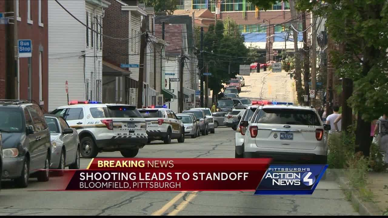 A man was shot in Pittsburgh's Bloomfield neighborhood Sunday afternoon prompting a SWAT call.