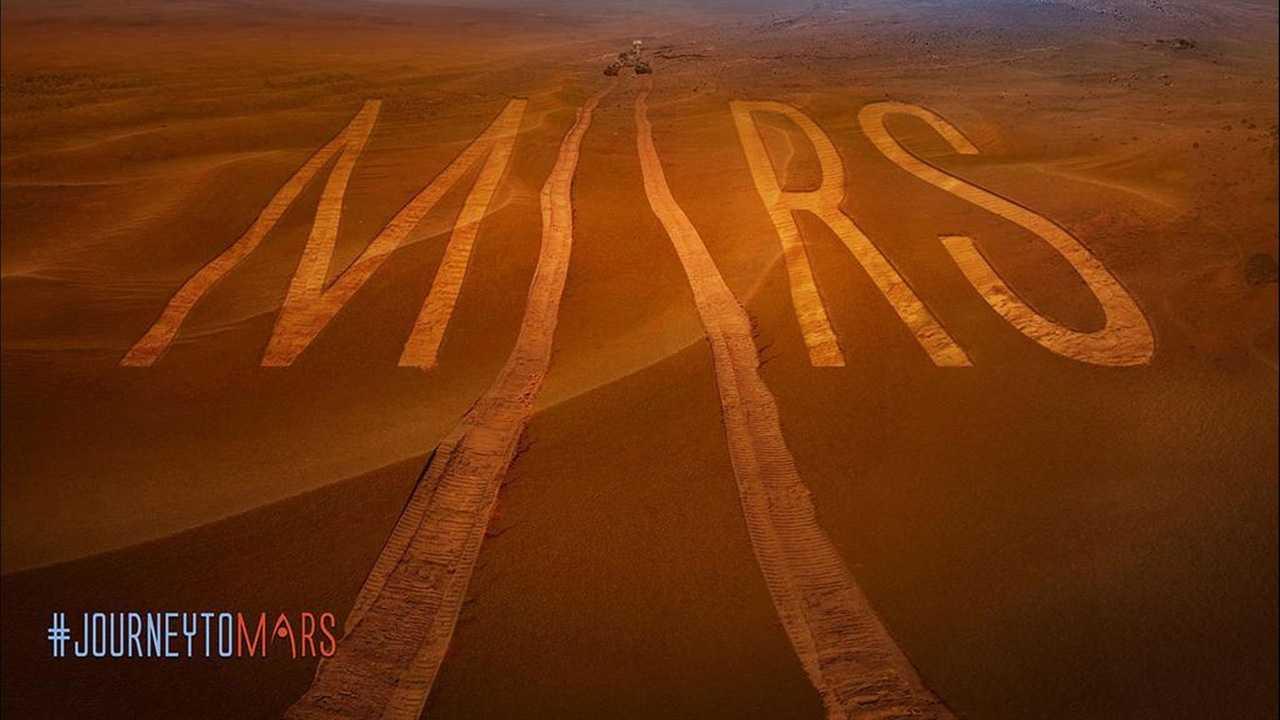 Mars dirt
