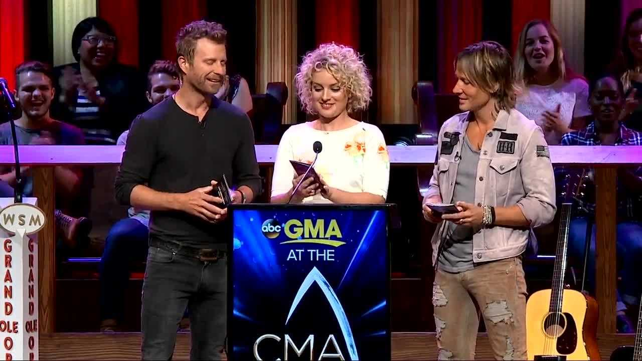 Nominees for the 2016 CMA Awards are announced