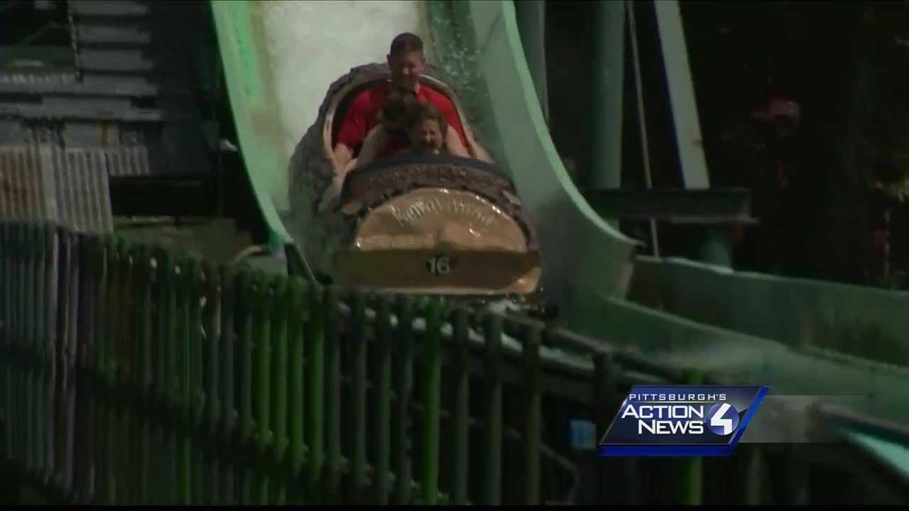 The Log Jammer at Kennywood