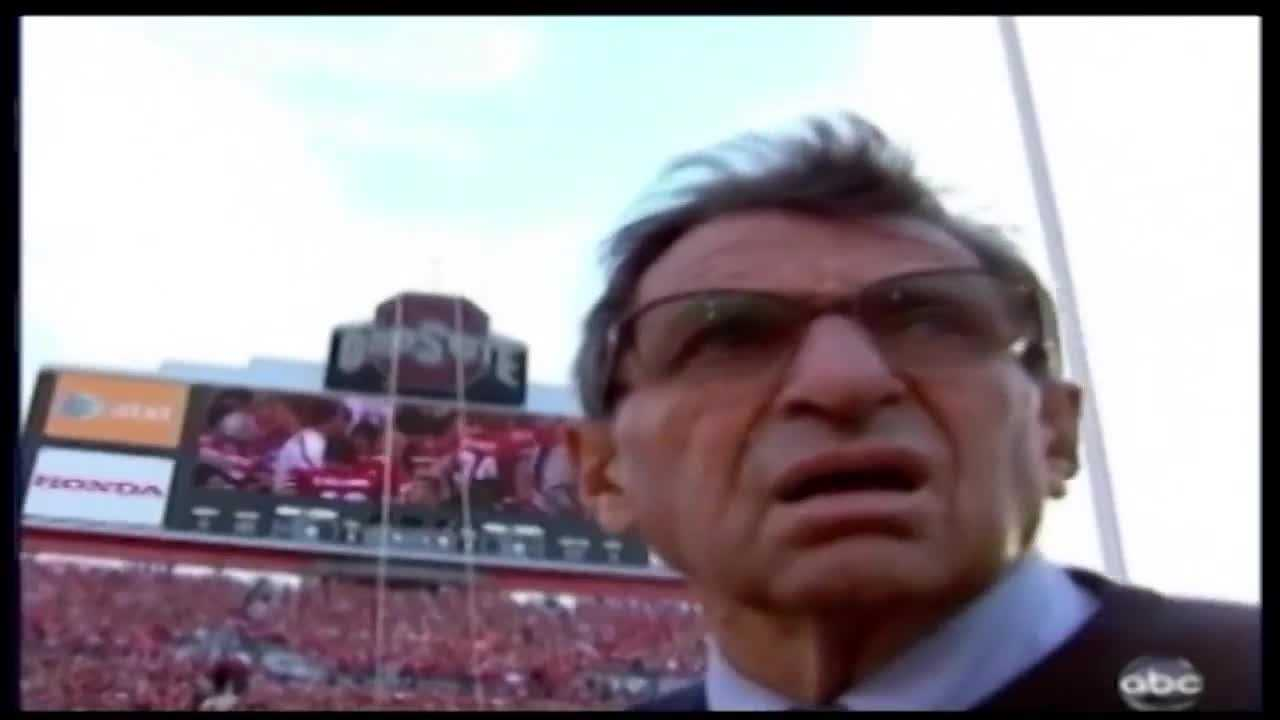 Penn State to mark anniversary of Paterno's debut as head coach