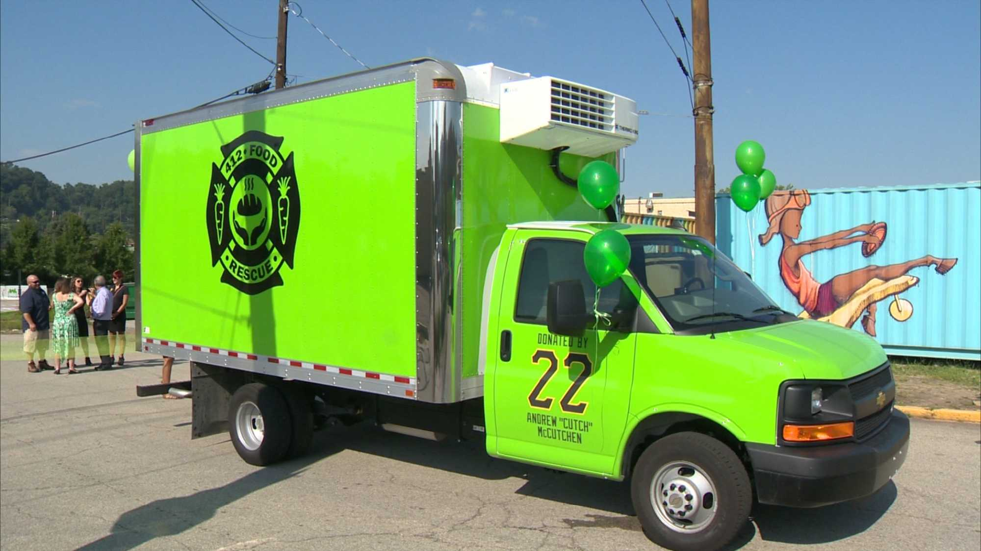 The 412 Food Rescue truck