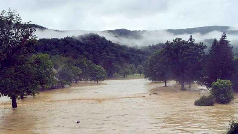 West Virginia flood June 2016
