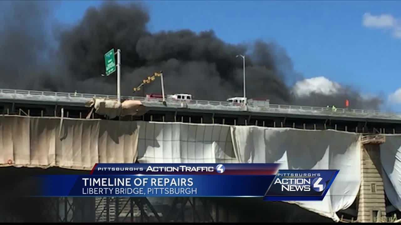 Five days after the fire broke out on the Liberty Bridge, Pittsburgh's Action News 4 has learned the contractor is facing huge fines and OSHA is investigating.