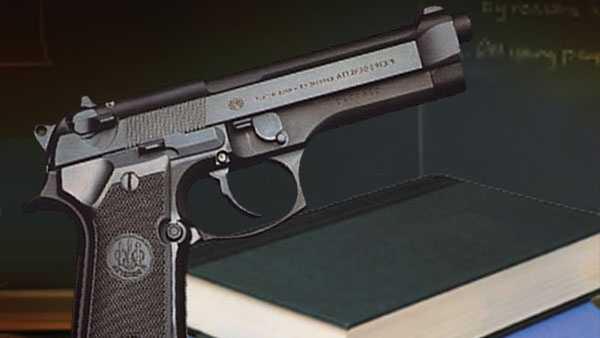 gun in school graphic