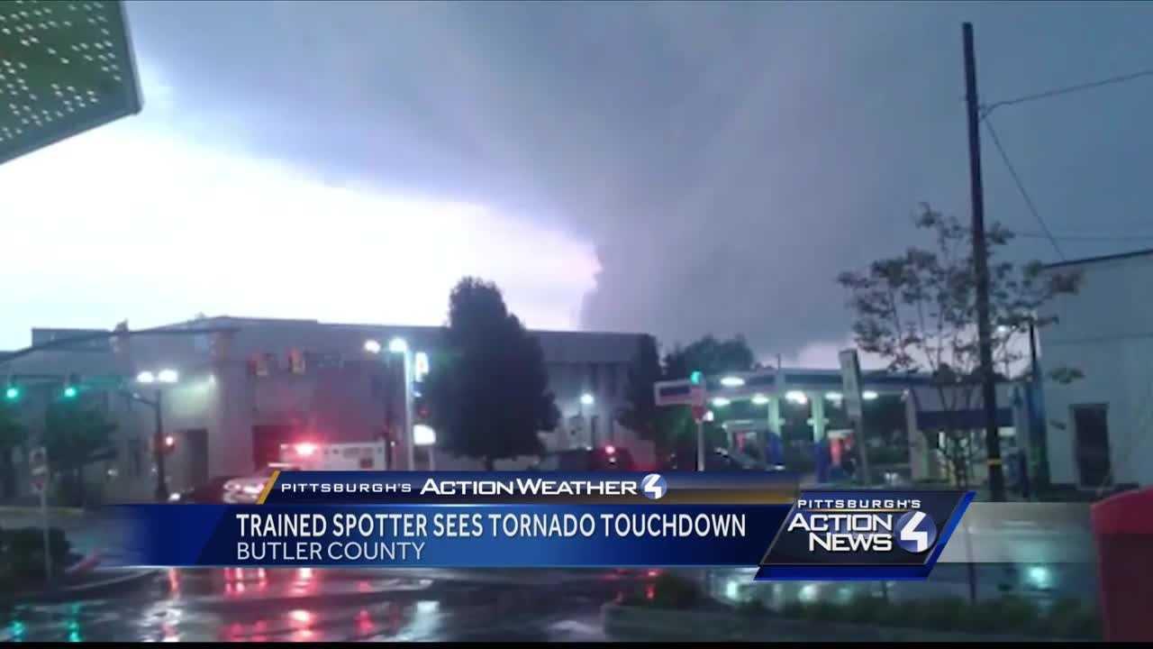 Tornado in Slippery Rock
