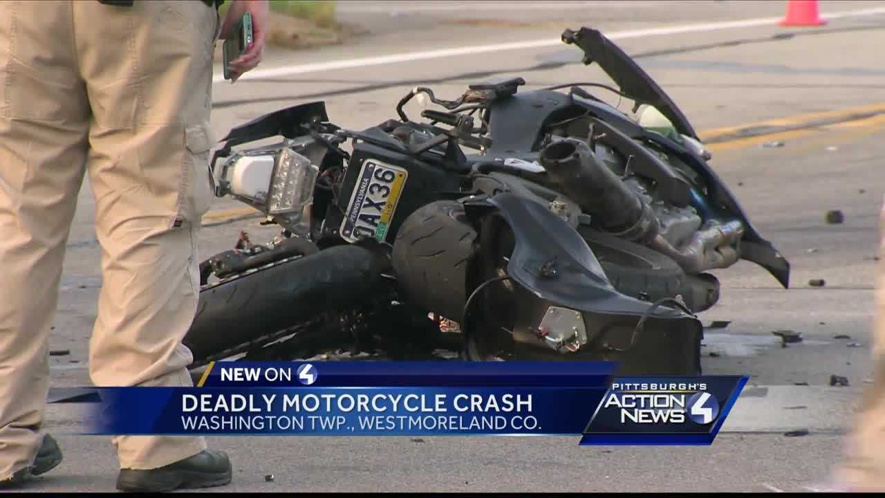 Washington Township police are investigating a deadly accident between a motorcycle and a tractor-trailer on Route 66 in Westmoreland County,