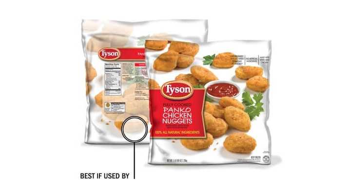 Chicken nuggets recall