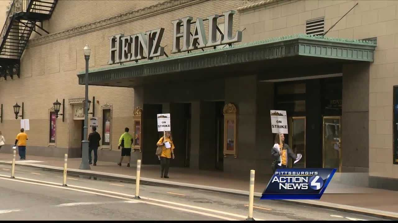 Pittsburgh Symphony Orchestra musicians went on strike Friday after unanimously rejecting calls for a 15 percent pay cut, but management contends those cuts and others are necessary because the orchestra is more than $20 million in debt.