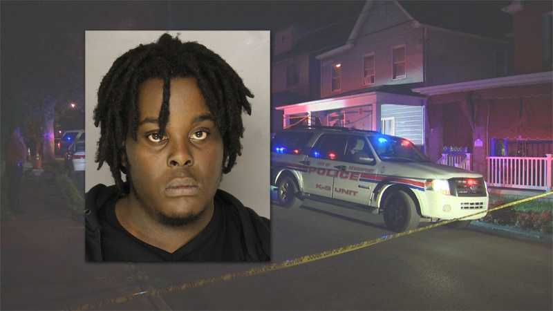 "Police say Derrick Means, a.k.a. ""Snowmann,"" is wanted in connection with a fatal shooting on Maple Street in McKeesport."