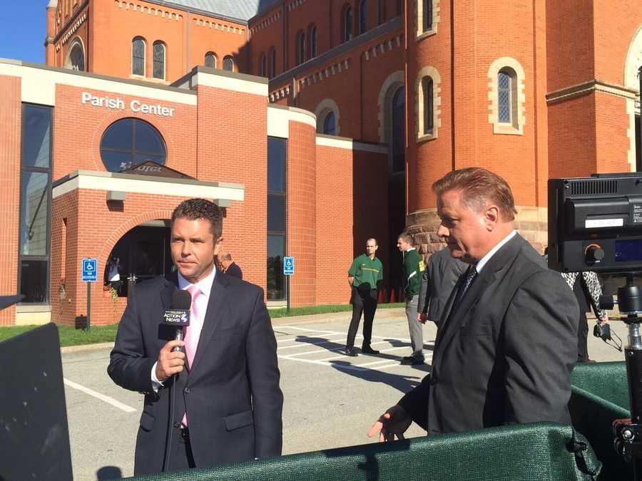 GuyJunkerWTAE and RyanRecker remembering Arnold Palmer. RIPArnie
