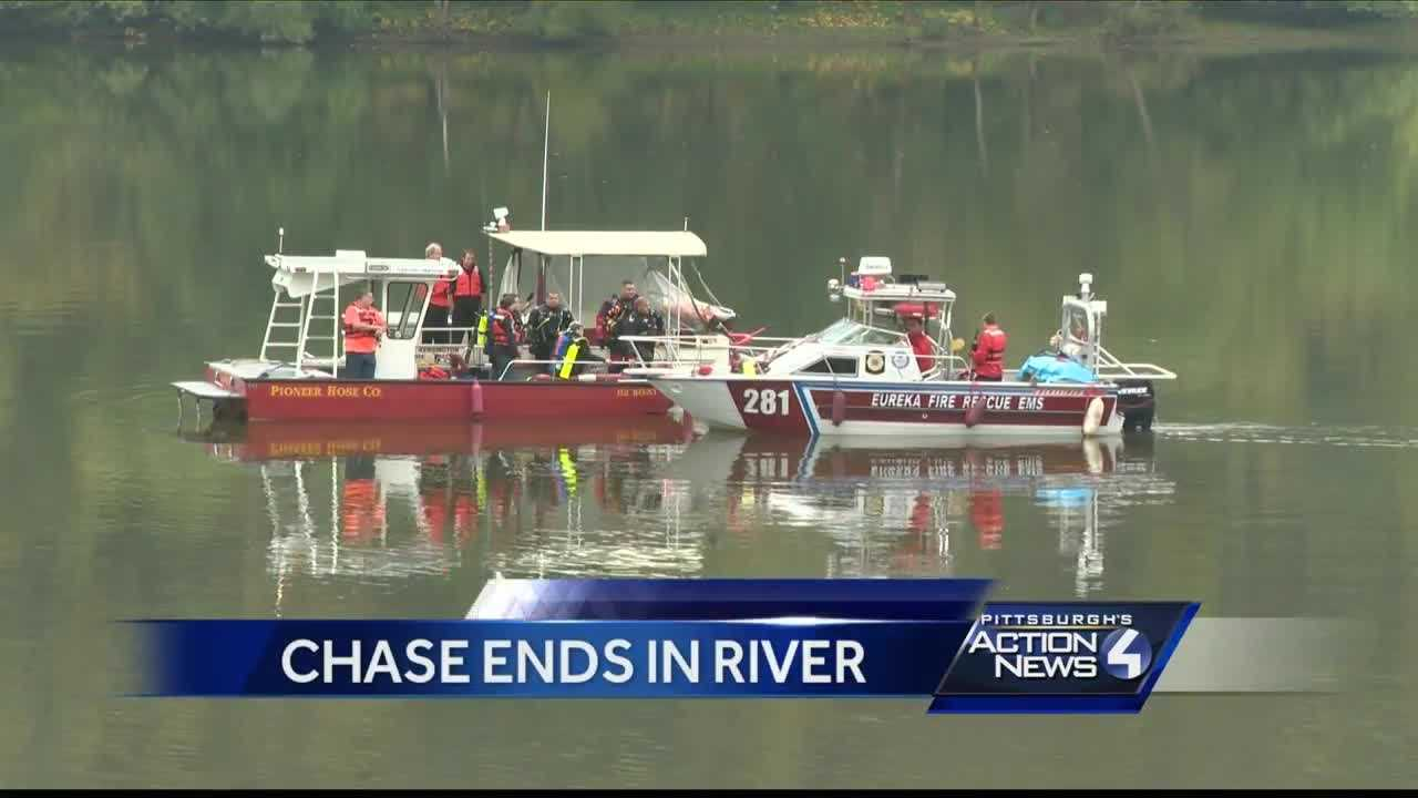 Man who fled from police, jumped into Allegheny River identified