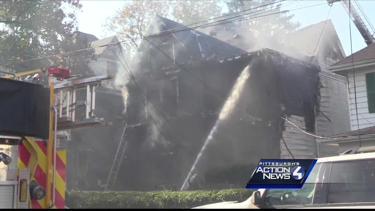 Multiple people were left displaced after a fire in Washington Sunday morning.