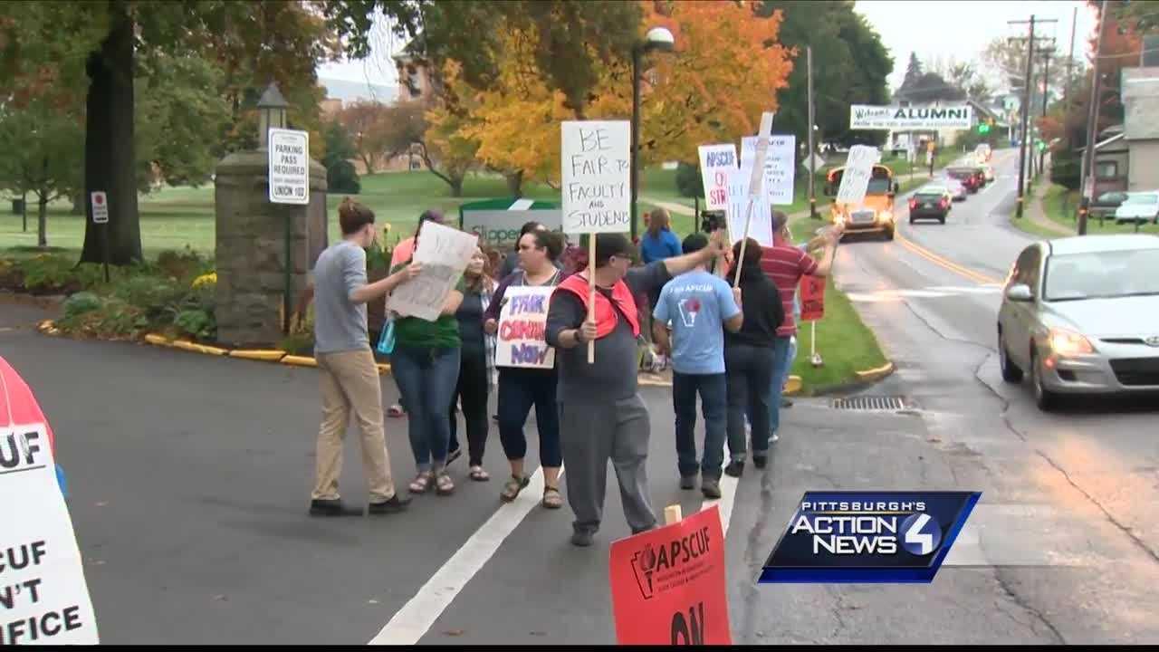 university faculty strike