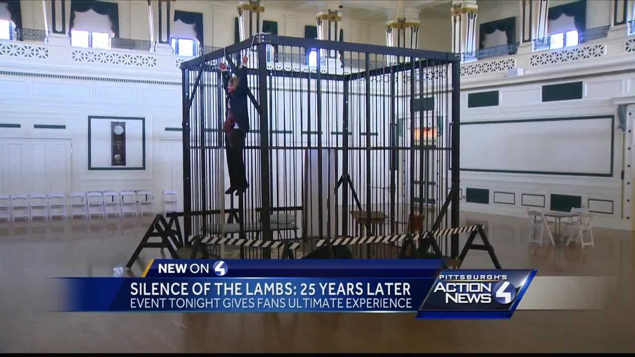 Pittsburgh's Action News 4 anchor Shannon Perrine got a look insid the famous 'Silence of the Lambs' cell filmed inside Soldiers and Sailors memorial.