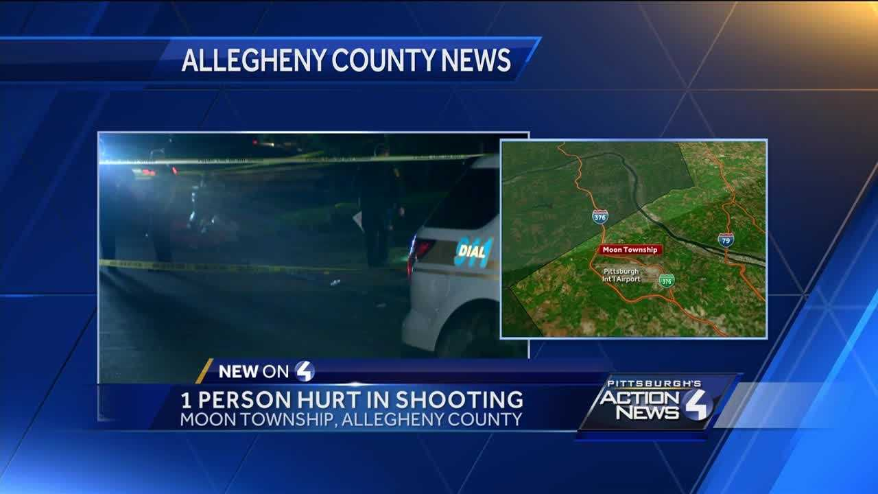 Man shot in Moon Township