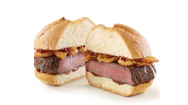 Arby's venison sandwich (Photo courtesy of Arby's)