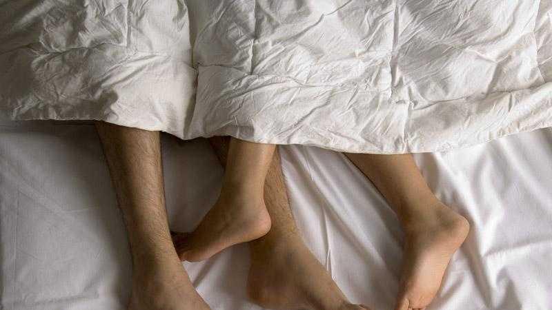 Bed, sleep