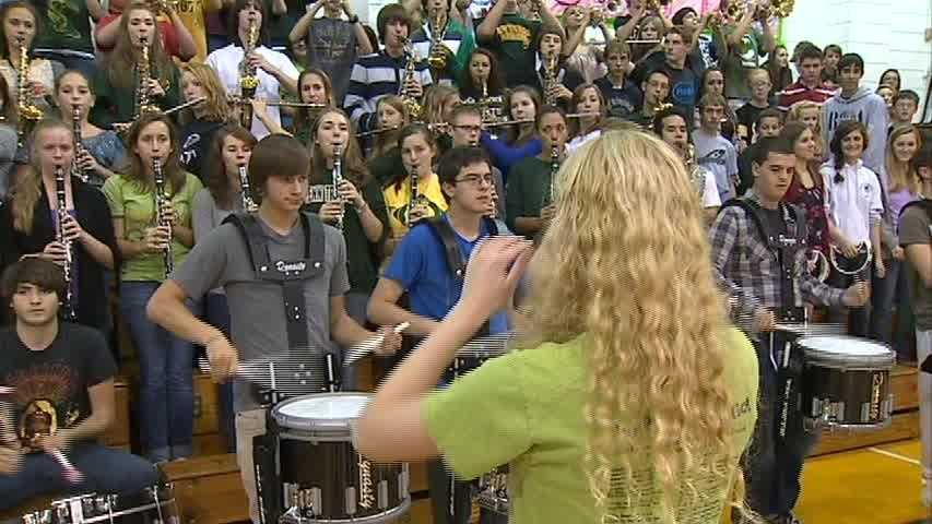 The Penn-Trafford Marching Band, last week's Band of the Week award recipient