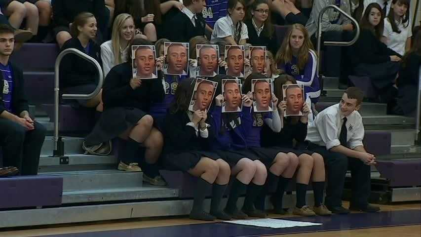 """OLSH students put on their best """"face"""" for Isiah Neely"""